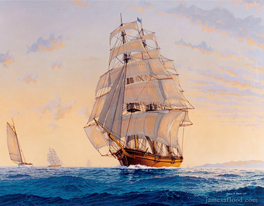 clipper ships essay Career sailor  the co founders of classic sailing, adam and debbie both had other careers before they made the sea a way of life many of the boat owners and skippers we work with have followed unusual paths to achieve their aim of working on boats and sailing ships.