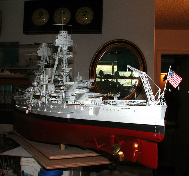 how to build a scale model ship from scratch