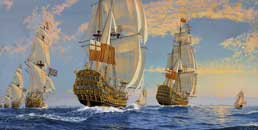 His Britannic Majesty's Fleet of King Charles II