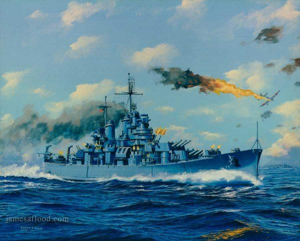 USS Boston (CA-69) Art Print