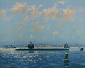 USS Boston SSN-703 Sub