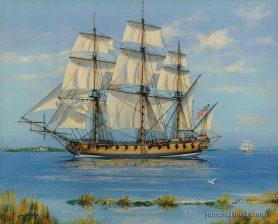 USS Boston 1777, 24-gun Frigate