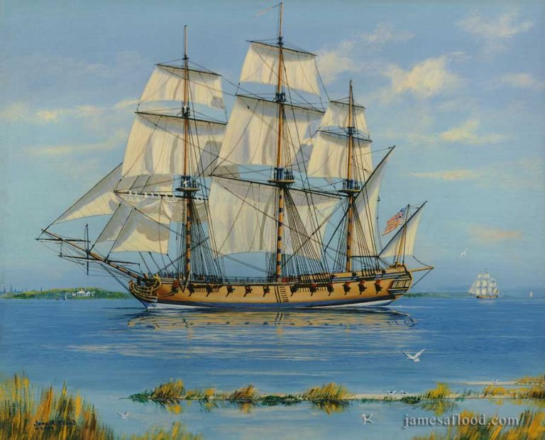 USS Boston 1777, 24-gun Frigate