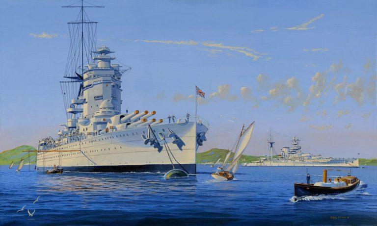 HMS Rodney & HMS Barham