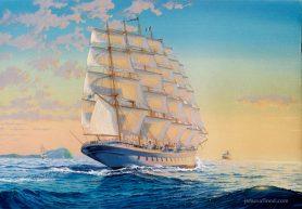 Cruise ship Royal Clipper