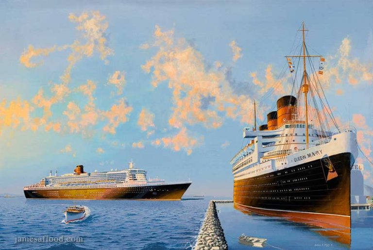 RMS Queen Mary & QM2
