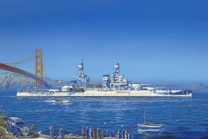 Painting of the USS Pennsylvania