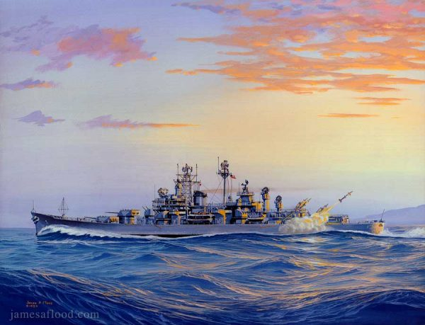 USS Boston CAG-1 Art Print