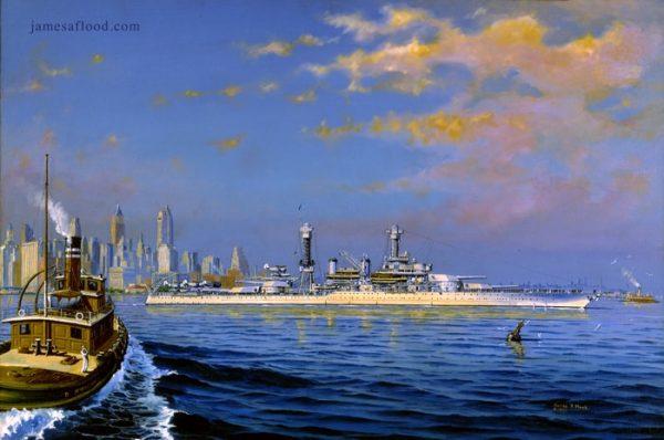 USS California Art Print