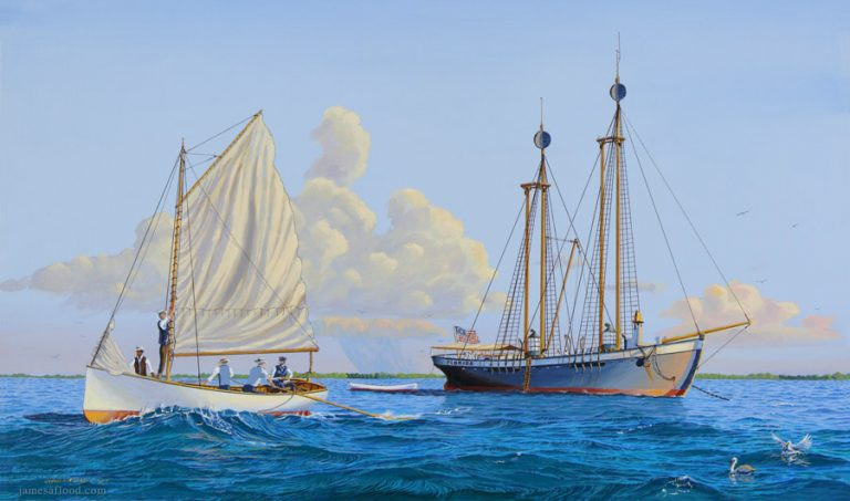 Carysfort Reef Lightship