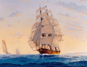 Clipper Ship Kelly Marie, 1990s