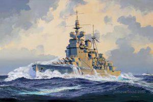 Painting of HMS Duke of York