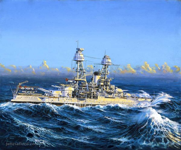USS Nevada Art Print