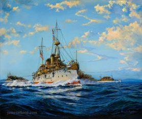 USS Olympia Art Print