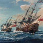 HMS Prince and HMS Royal Charles