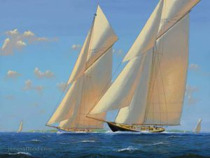 White Heather and Royal Yacht Britannia