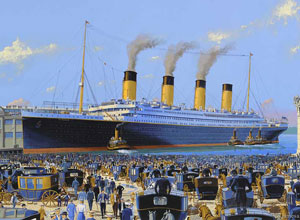 RMS Titanic Arriving in New York