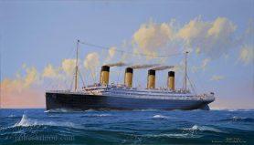 RMS Titanic Sunset