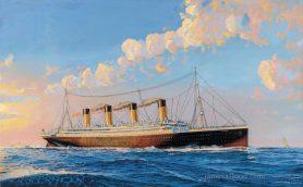 Titanic Sunrise Print