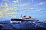 SS United States at Sea