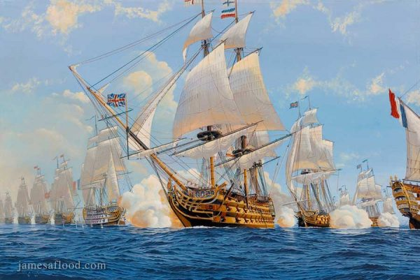 HMS Victory print