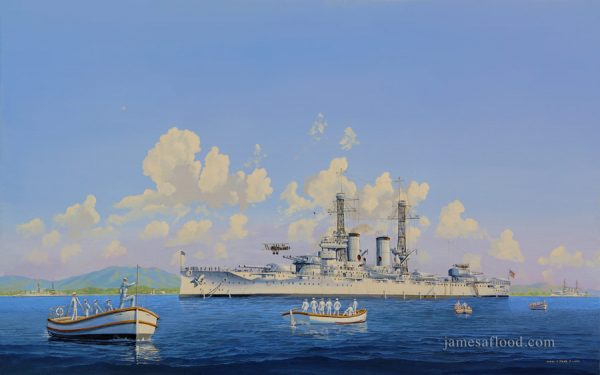 Battleship Texas USS Texas Print
